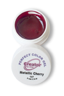 PERFECT COLOR GEL Гель цветной 5г. 107 METALLIC CHERRY